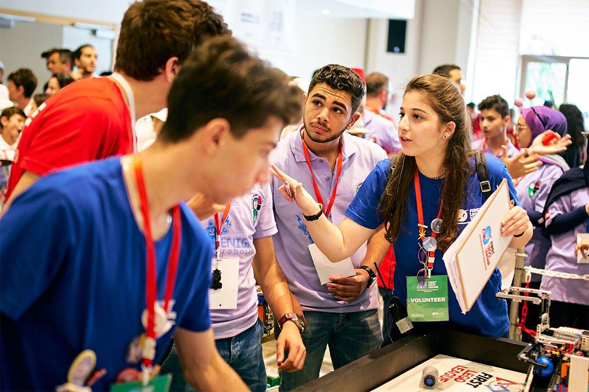 FIRST LEGO League Debuts in the Region at LAU | LAU News